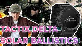 Распаковка Garmin Tactix Delta Solar Ballistics