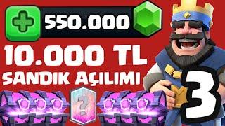 550.000 Elmas / 10.000 Tl Sandik AÇilimi +3  TÜrkİye'nİn En BÜyÜk Sandik AÇi