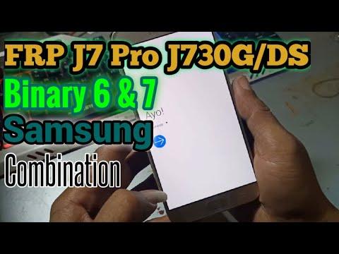 FRP Samsung Galaxy J7 Pro SM-J730G/DS Binary 6 & 7 Remove