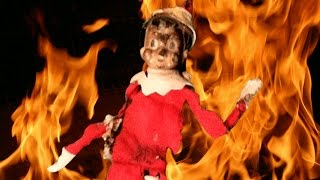 Elf on The Shelf Horror - A Christmas Nightmare - Matt and The Monkey Chatter