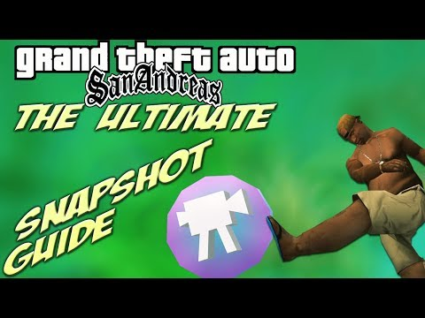 GTA San Andreas: ULTIMATE Hidden Snapshot Location Guide [+map Markers]