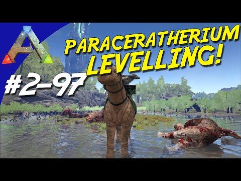 ARK Survival Evolved Dansk Sæson 2 - Ep 97 - PARACERATHERIUM LEVELLING!