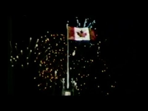 Hymne National du Canada - National Anthem of Canada (TVA Québec sign-off 1980s)