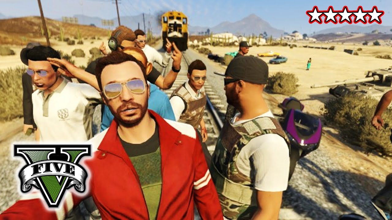 gta 5 online gameplay with friends
