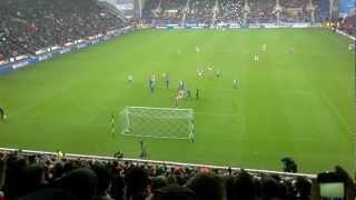 mikel arteta penalty vs wigan 23 12 12