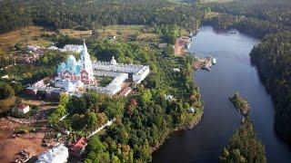 Остров Валаам в республике Карелии. Россия