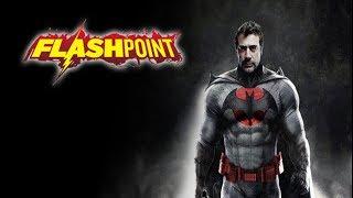 ¡¡¡FLASH Y BATMAN BUSCAN AL SUPERMAN DE FLASHPOINT!!!