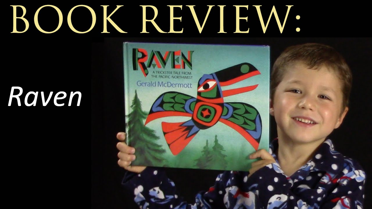 raven a trickster tale book review youtube