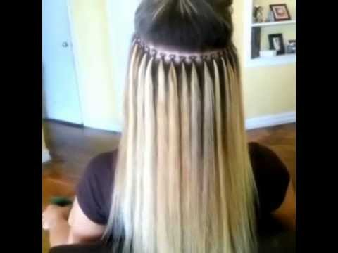 Brazilian Knot Hair Extensions - YouTube