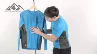 Montane Sonic Long Sleeve T Shirt - www.simplyhike.co.uk