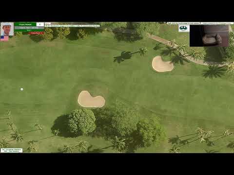Action! PC Golf 1993 Season: Hawaiian Open @ East Honolulu CC (Round #3)
