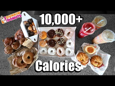 Dunkin Donuts 10,000(+) Calorie Challenge video screenshot