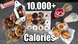 Dunkin Donuts 10,000(+) Calorie Challenge