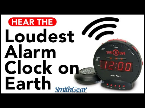 Sonic Bomb - Loudest Alarm Clock on Earth