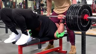 500x20 BENCH PRESS LARRYWHEELS