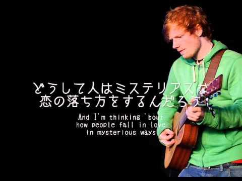 【洋楽劇場】Thinking Out Loud / Ed Sheeran 歌詞&日本語訳 - YouTube