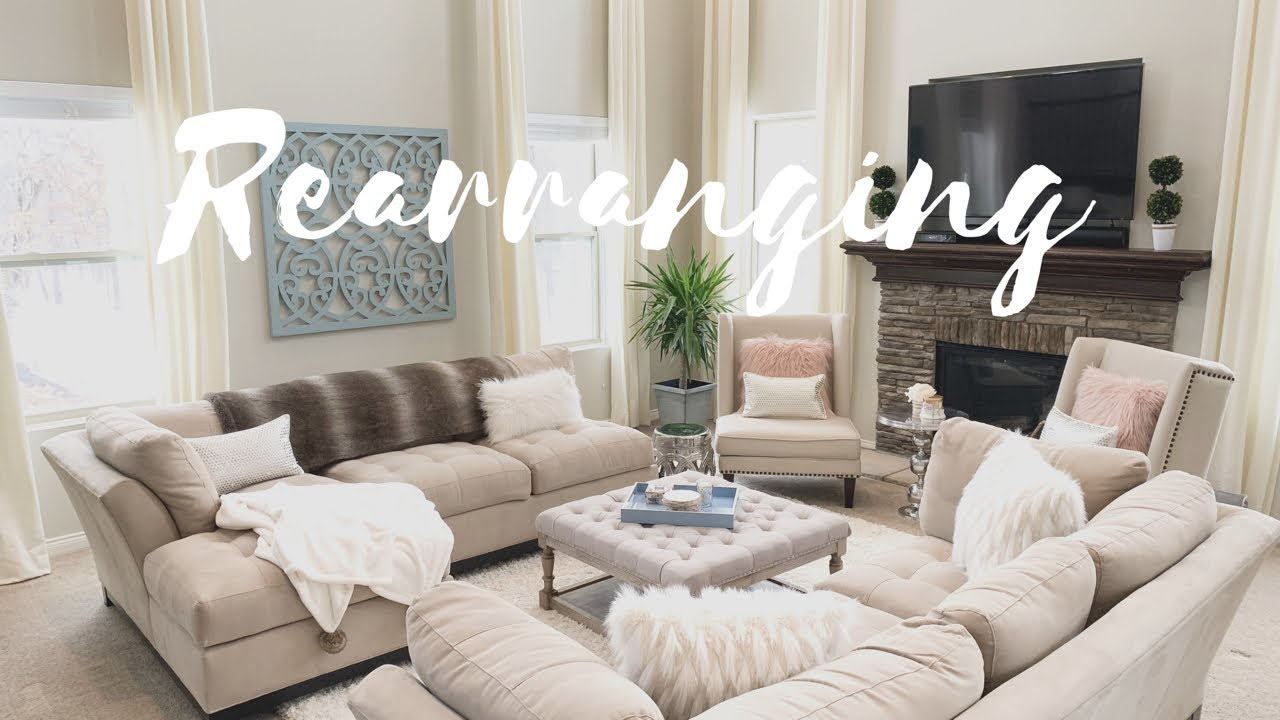 CLEAN WITH ME | REARRANGING AND REDECORATING MY FAMILY ROOM | CLEANING  MOTIVATION | DECOR IDEAS