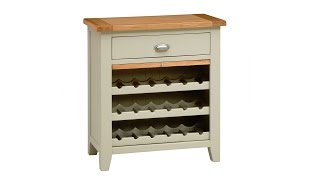 Houghton Painted Wine Rack - PineSolutions
