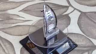 Metallic Puzzle - Burj Al Arab - Metal Earth / Metal Works