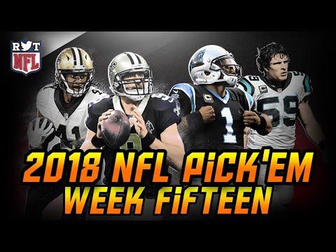 2018 Week 15 NFL Predictions   NFLRT Pick'em Challenge