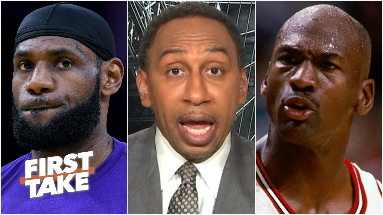 Stephen A. compares LeBron & MJ on their leadership styles | First Take