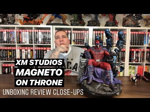 XM Studios Magneto on Throne Unboxing Review and Close-Ups