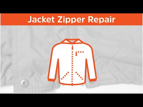 How to repair a broken jacket zipper in 2 minutes