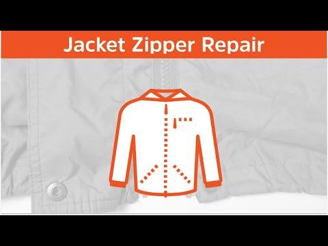How to repair a broken jacket zipper in 2 minutes