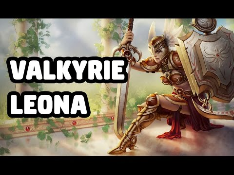 VALKYRIE LEONA SKIN SPOTLIGHT - LEAGUE OF LEGENDS
