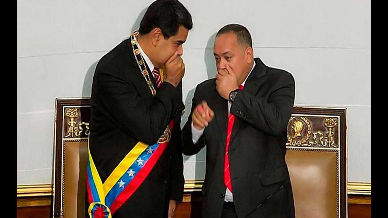 Maduro... Cabello... pel.igro España... López... Expulsión