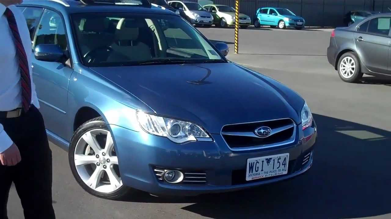 Live Video Tour Of Subaru Liberty 2008 Premium Wagon At Berwick Mitsubishi
