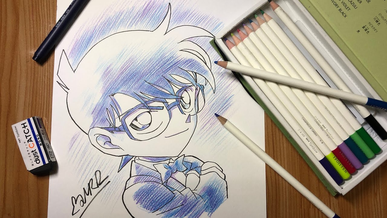 Vẽ Conan (drawing Conan Edogawa)