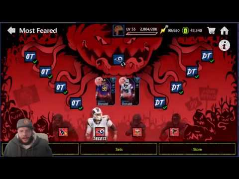 MOST FEARED UPDATE     MADDEN MOBILE 20