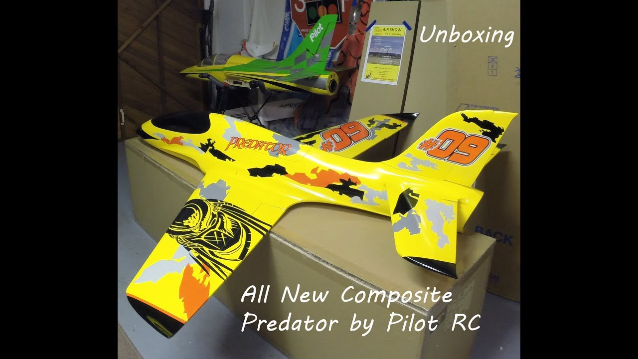Unboxing the New Full Composite Predator Pilot RC