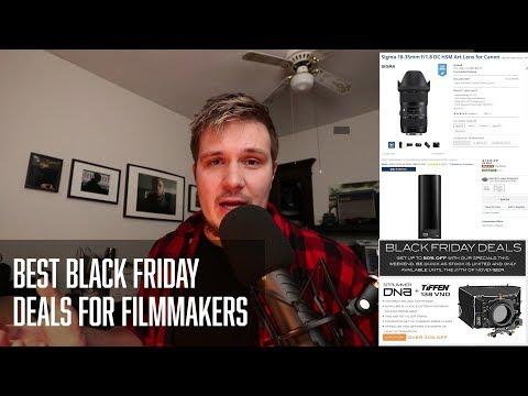 Best Filmmaking Black Friday Deals