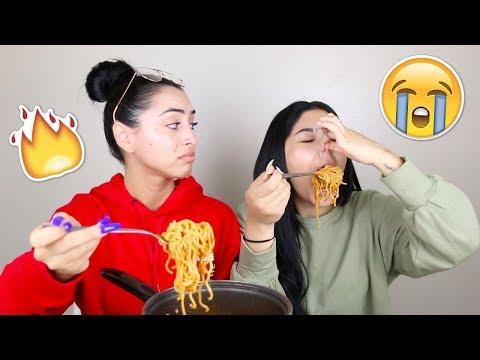 Spicy Noodle Challenge   Daisy Marquez