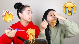 Spicy Noodle Challenge | Daisy Marquez