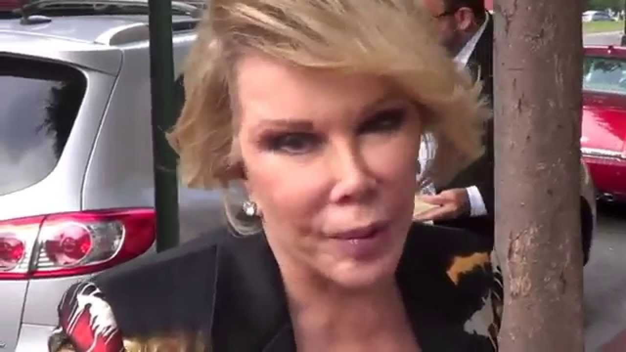 Joan Rivers Says Obama Gay Michelle Tranny