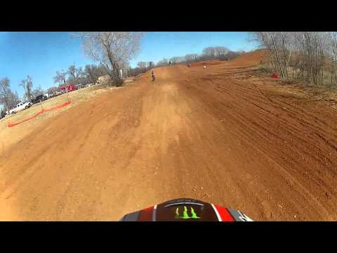 First Time On My New Cr 125r | GoPro HD | Elk City Raceway