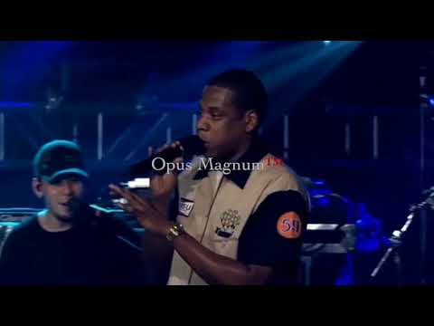 Jay Z Numb Encore Linkin Park's Chester Bennington Tribute w Los Angeles Dodgers More1