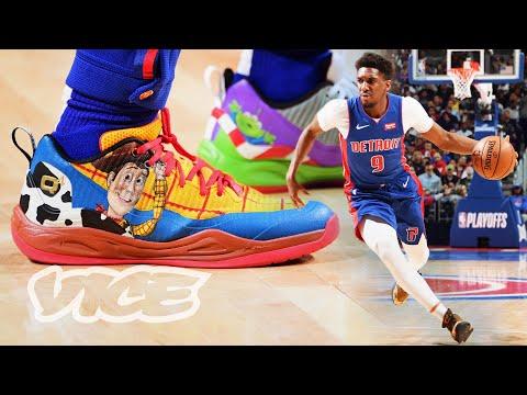 Meet the NBA's Custom Sneaker King