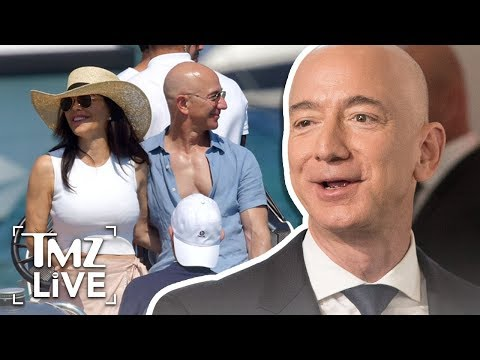 Amazon CEO Jeff Bezos Lookin' Buff With New GF   TMZ Live