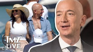 Amazon CEO Jeff Bezos Lookin' Buff With New GF | TMZ Live