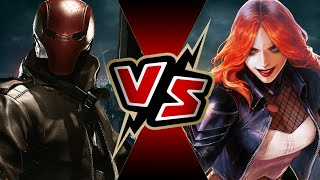 Red Hood VS Typhoid Mary | BATTLE ARENA