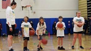 Basketball superstar Breanna Stewart hosts camp in Syracuse
