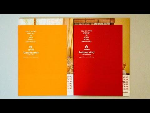 Unboxing | Astro Mini Album Vol. 3 - Autumn Story (Red + Orange Version)