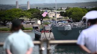 USS Pearl Harbor Departs Joint Base Pearl Harbor-Hickam for Pacific Partnership