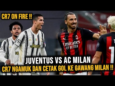 CR7 On Fire !! Juventus VS AC Milan, Ronaldo Ngamuk dan Siap