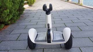 Segway miniPLUS review Self-Balancing Scooter Ninebot Xiaomi 9 latest model in action