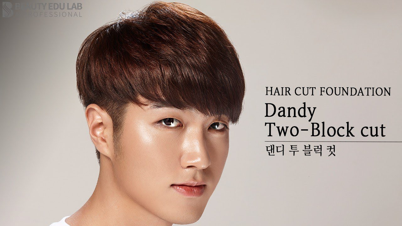 Eng Sub How To K Pop Dandy Two Block Haircut Tutorial Step By Step Youtube